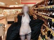 Vacances 2014 nue au supermarché